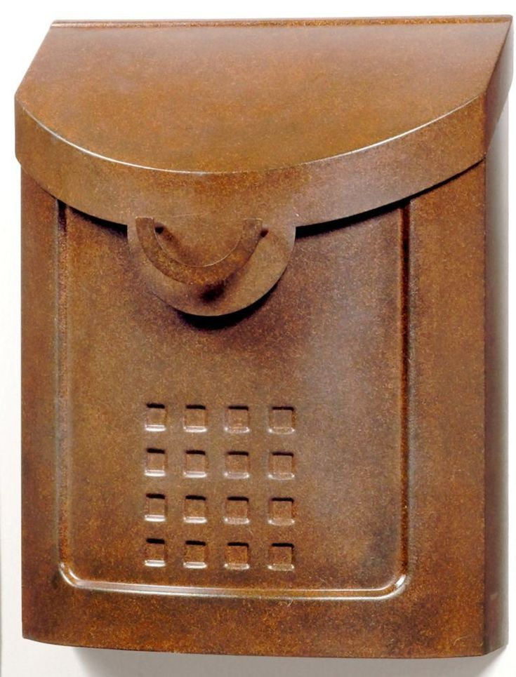 Aged Copper Neo Classic Wall mount Mailbox