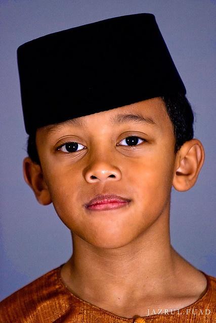 Malay Boy, (wearing the Songkok) Malaysia