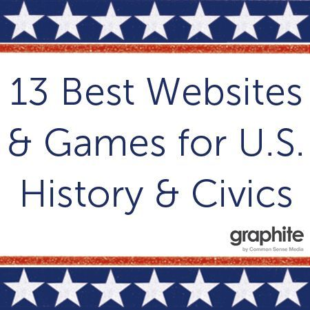 13 Best Websites and Games for U.S. History and Civics | graphite Blog