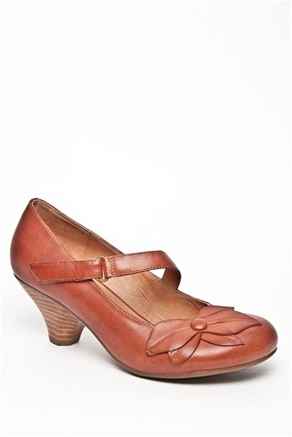 Miz Mooz - Petal Casual Low Heel Shoe - Whiskey