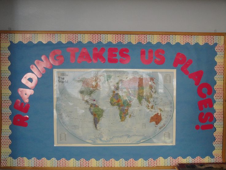 As you read a story, discuss where it takes place and mark it on the map!  Great for geography