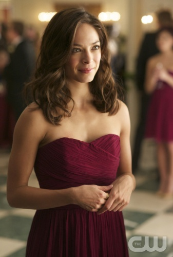"""Ideal bridesmaid dress & hair from CW's Beauty and the Beast -- """"Bridesmaid Up!"""" -- Pictured: Kristin Kreuk as Catherine Candler-- Photo: Sven Frenzel/The CW — Image Number: BB108a_0129.jpg -- © 2012 The CW Network, LLC. All rights reserved."""