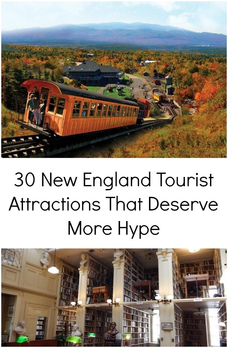 Most travelers can recite the top New England tourist attractions pretty easily – walk the Freedom Trail in Boston, drive through Vermont during fall foliage season, go hiking in Maine, etc. But you'd be surprised at how many five-star New England tourist attractions are just off the beaten path. We've mentioned our favorite hidden gems below to create the ultimate list of New England attractions that deserve more hype.