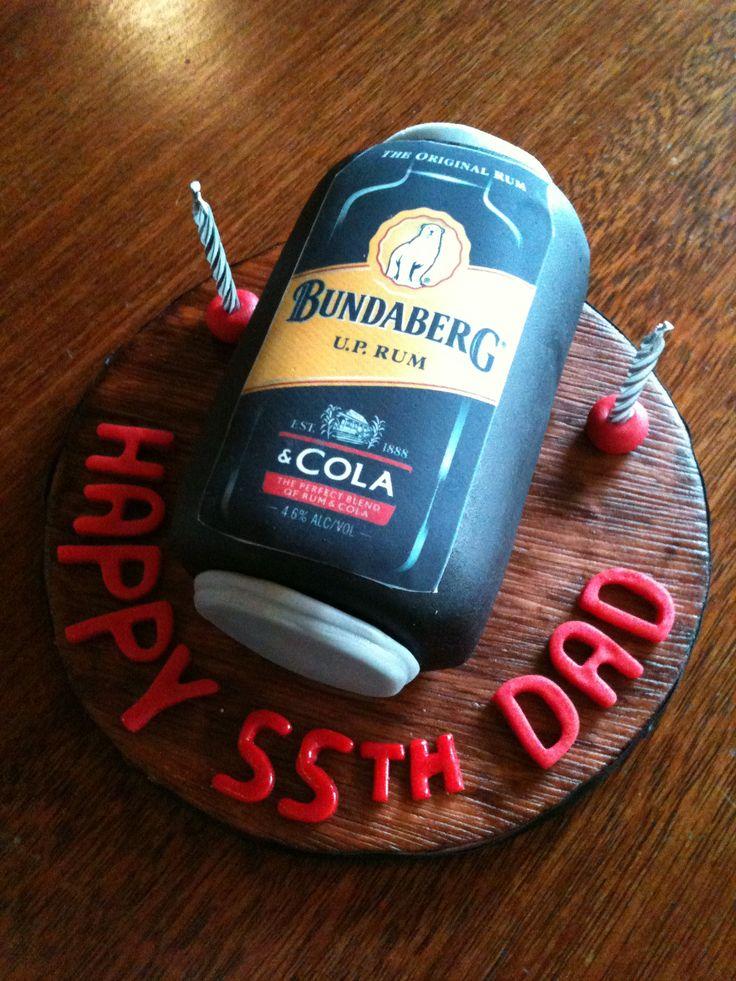Bundy rum can cake