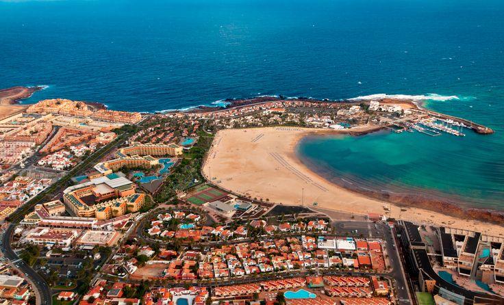 Caleta de Fuste, Fuerteventura - can't remember where we stayed but had a nice Autumn break