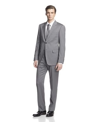 -26,900% OFF Cerruti 1881 Men's Drop 7 Classic Fit Suit (Taupe Stripe)