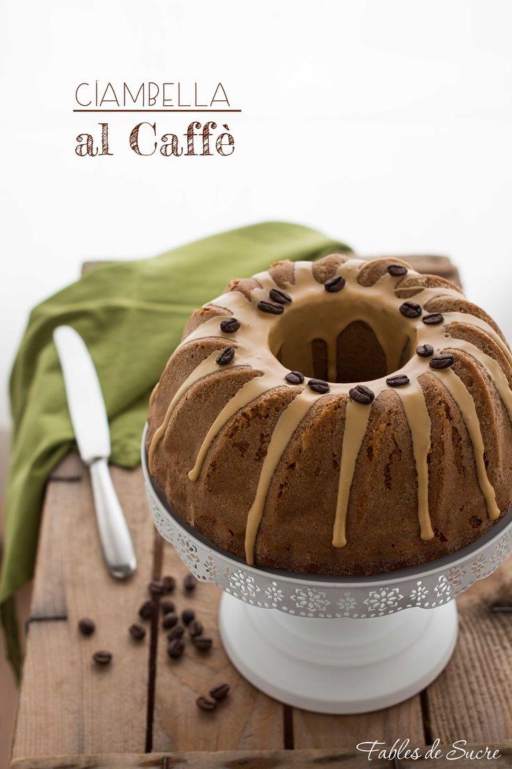 ciambella soffice al caffè