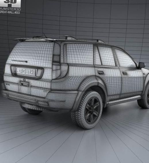 Haval H3 Great Wall models - http://autotras.com