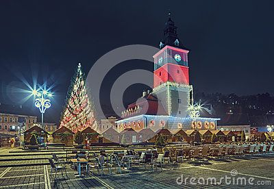 Council Square On Christmas, Brasov, Romania - Download From Over 39 Million High Quality Stock Photos, Images, Vectors. Sign up for FREE today. Image: 63593087