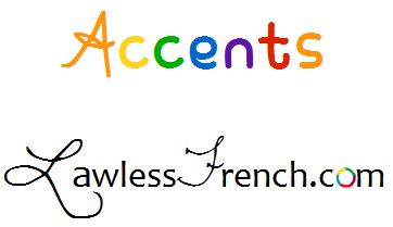 Acute Accent: é In French, E is the only letter that can be modified with l'accent aigu, the acute accent. With the accent, it may be called either e accent aigu or simply é, pronounced [e]. As indicated by the latter, the acute accent changes the vowel's pronunciation to [e]. http://www.lawlessfrench.com/pronunciation/acute-accent/