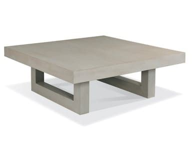 A chic, over-scaled transitional slab cocktail table with a sled runner base. The size provides the perfect answer for a large sofa or to drop into the space a large sectional creates, offering ample surface for entertaining.
