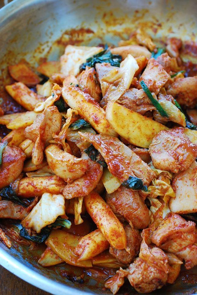 532 best korean food korean bapsang images on pinterest korean dak galbi stir fried spicy chicken spicy korean chickenpajeon recipekorean food forumfinder Images