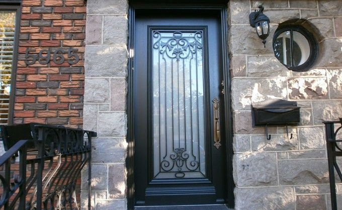 Porte d'entrée – façade en bois – Champêtre – 537