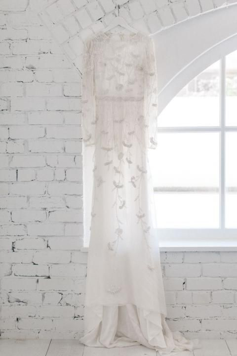 Winter Wedding Dress / Ethereal Whites / Wedding Style Inspiration / LANE