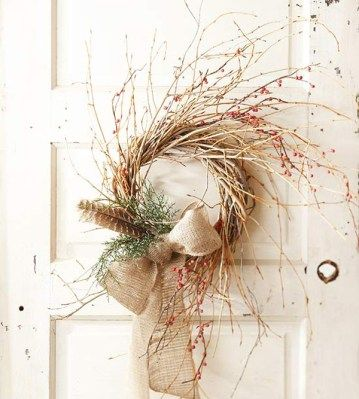 Rustic Christmas Decorating Ideas-22-1 Kindesign