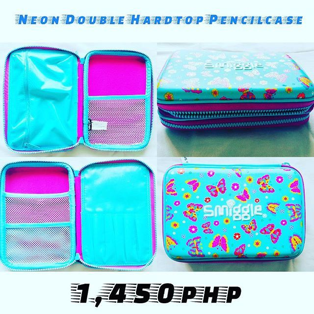 1,450php!  Neon Double Hardtop P.Case! (Last 1) 🎄Super Mega Christmas Sale🎄  Get yours now! Few stocks left! 📲Viber:09959608797 📥DM: @smiggle_sale_ph 🌐FB: Lozada Ann (Smiggle Collections Manila) 💸Metrobank BDO Account  #smigglecollectionsmanila #smigglesaleph