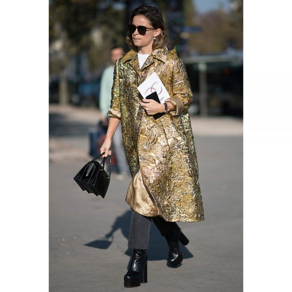 - Platforms feel practical in basic black. We love the look with a gorgeous coat and lady bag in daylight.