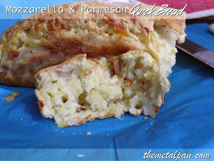 Mozzarella Parmesan Quick Bread 1