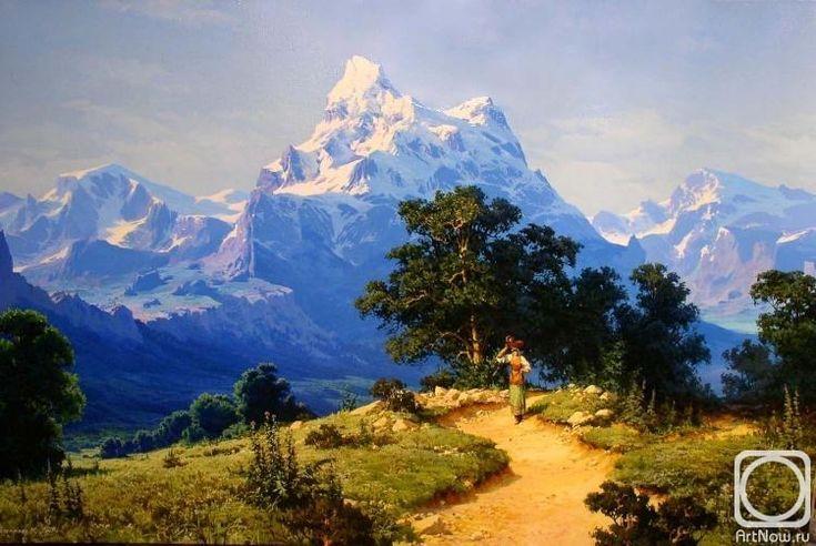 Fyodorov Michail. Mountain Pastorale