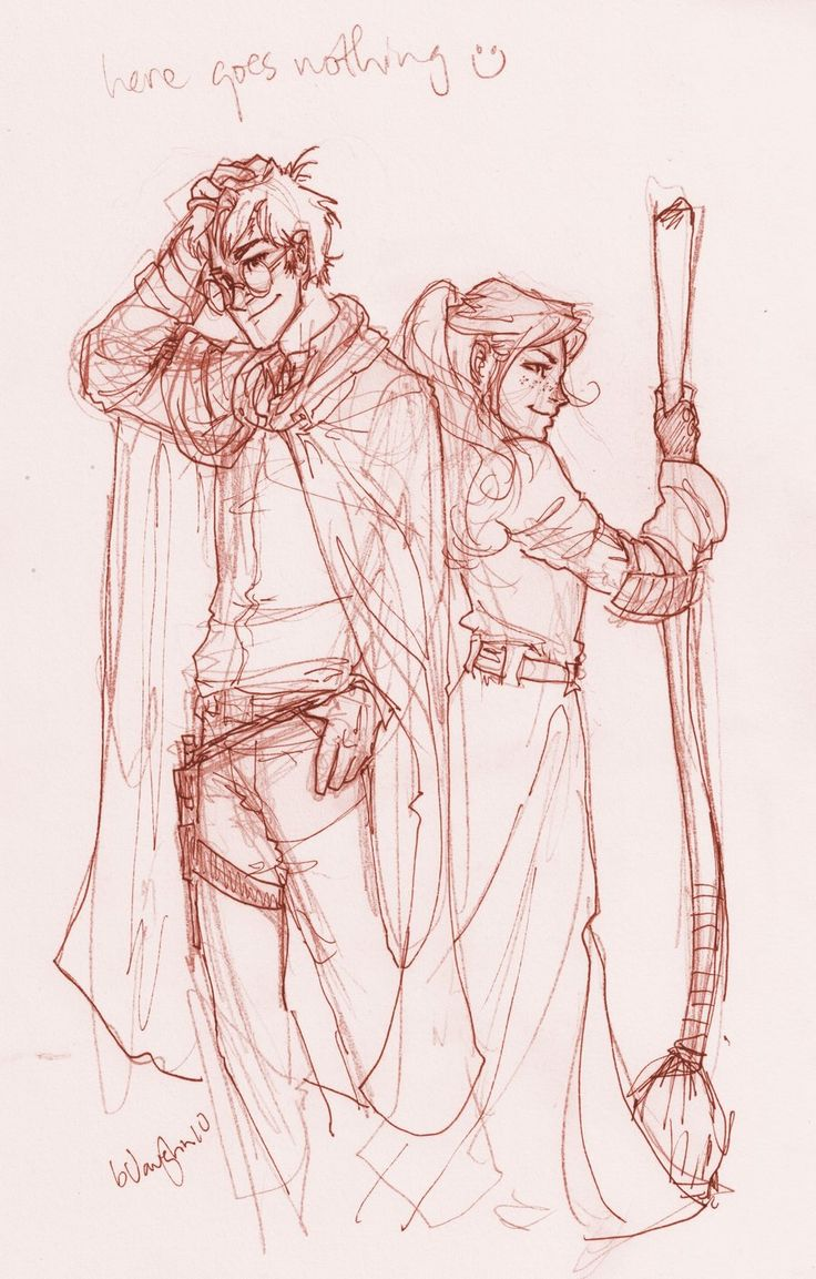 Harry and Ginny by *burdge-bug on deviantART