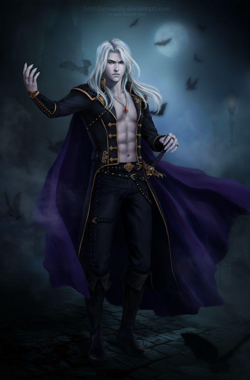 Vampire by on deviantart - Wallpaper vampire anime ...