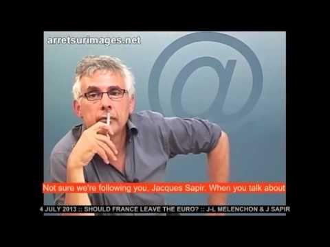 Jacques Sapir sur la sortie de l'euro