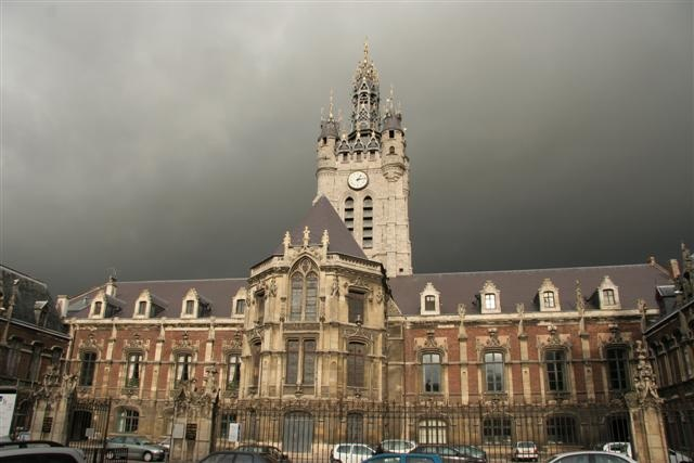 """This is the """"beffroi de Douai"""" or the """"belfry of Douai"""". This is in the very north of France and where I lived as an exchange student!"""