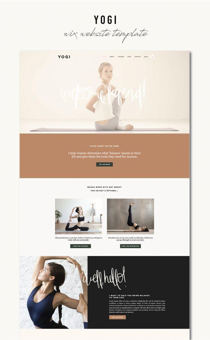 Website Design Inspo For Wellness Services In 2020 Wix Website Templates Wix Website Design Wix Templates