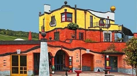 Colorful Architecture By Friedensreich Hundertwasser