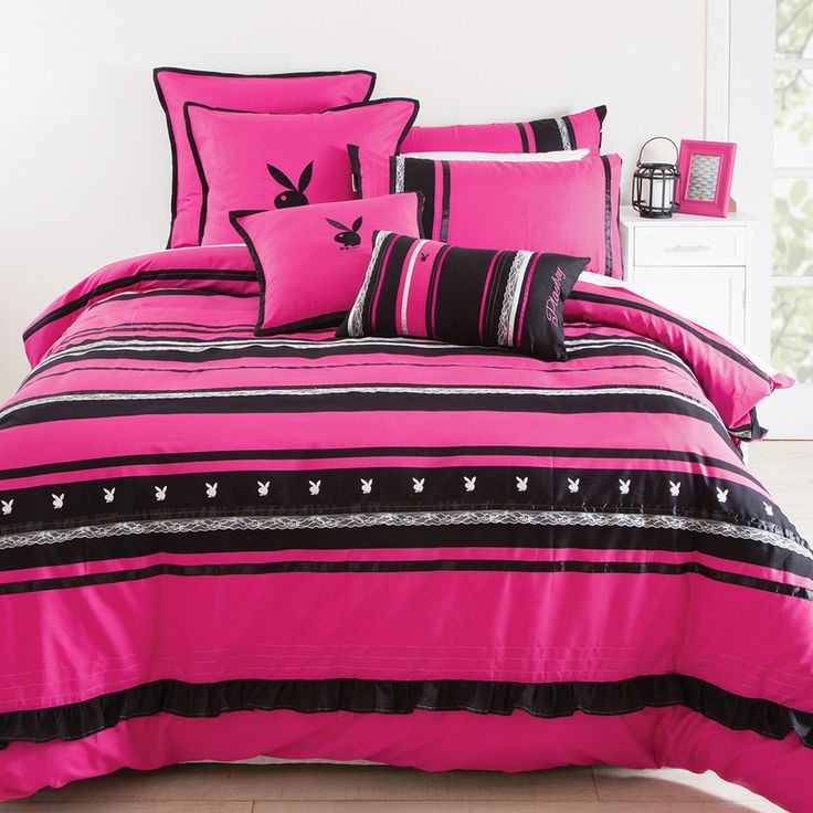 The Flirtatiously Provocative Brand Has Created 3 New Designs Lacey Nights Quilt Cover Captures Playfulness Of Bunny