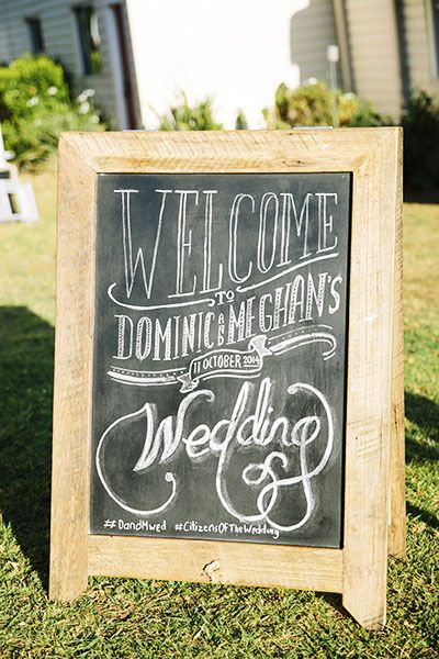 Sydneysiders Meghan and Dominc chose to wed in Byron Bay, they embraced an Australiana wedding theme, styled by Kelley from Byron Bay's Bower Botanicals.