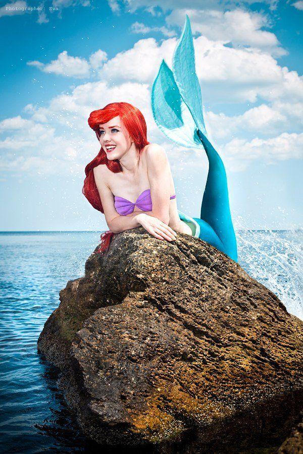 Nelly Lafeison is Ariel, The Little Mermaid
