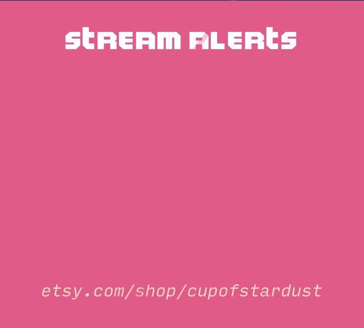 Pink Switch Stream Alerts Cute Twitch Alerts