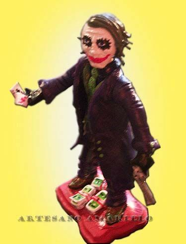 #joker #escultura en #porcelanicron #figura