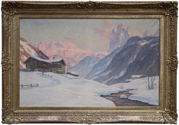 Erwin Kettemann – Sella – Sassolungo – Val Gardena   Antichità Missaglia