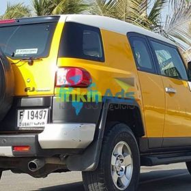 FOR SALE: TOYOTA FJ CRUISER AGENCY MAINTAINED 100% ACCIDENT FREE PERFECT LIKE NEW