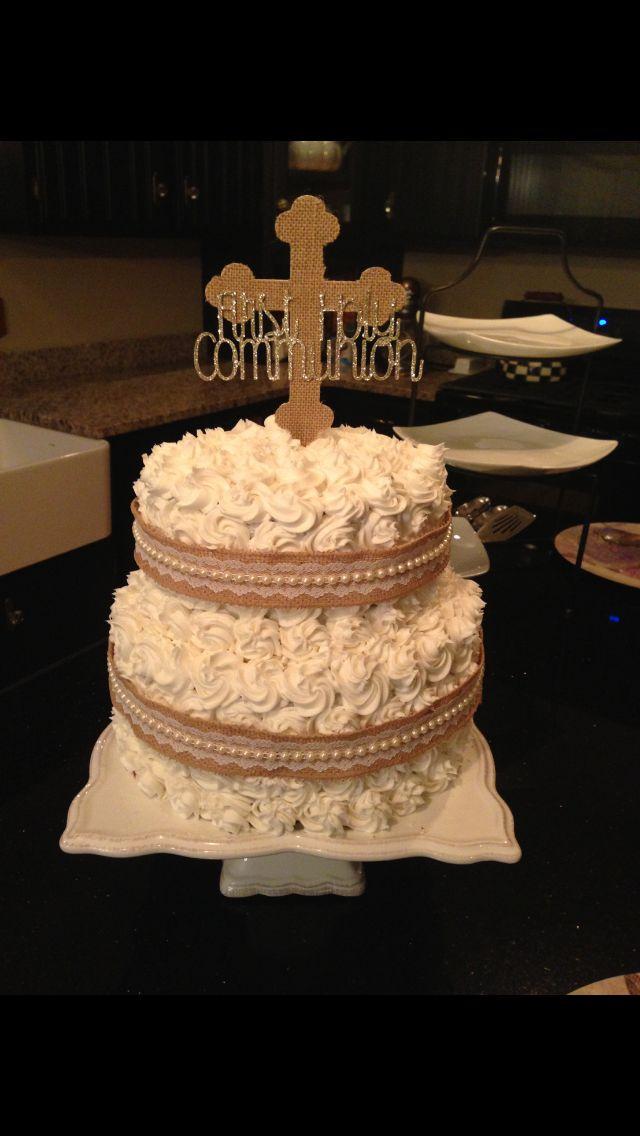 Anna's First Communion Cake