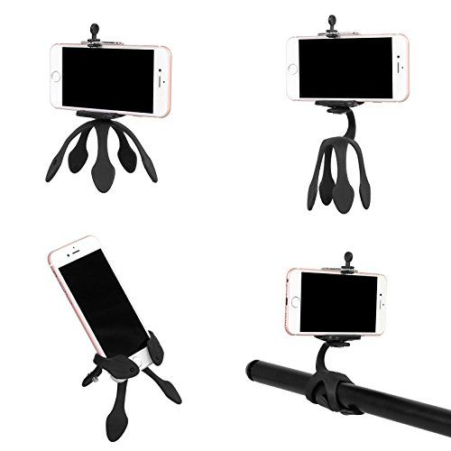 Portable Flexible Smartphone Mount Gecko Tripod that can be Set and Hung Anywhere,Suitable for Smartphones,iPad and Sports Cameras (Black) #Portable #Flexible #Smartphone #Mount #Gecko #Tripod #that #Hung #Anywhere,Suitable #Smartphones,iPad #Sports #Cameras #(Black)