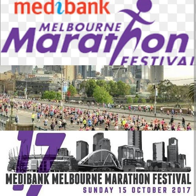 For everyone who is running the Marathon, Half Marathon, 10km or 5.7km run or walking the 3km at the Melbourne Marathon on Sunday 15th October 2017. Make sure to book in for your Pre and post run/ walk The importance of Recovery and preparation Call , email or text to make a booking Medibank Melbourne Marathon #melbournemarathon #melbournemarathontraining #running #training #preparation #recovery #rehabilitation #healthisimportant #myotherapy #remedialmassage #massagetherapy #sports #...