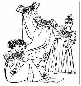 Nightgown Patterns We Carry
