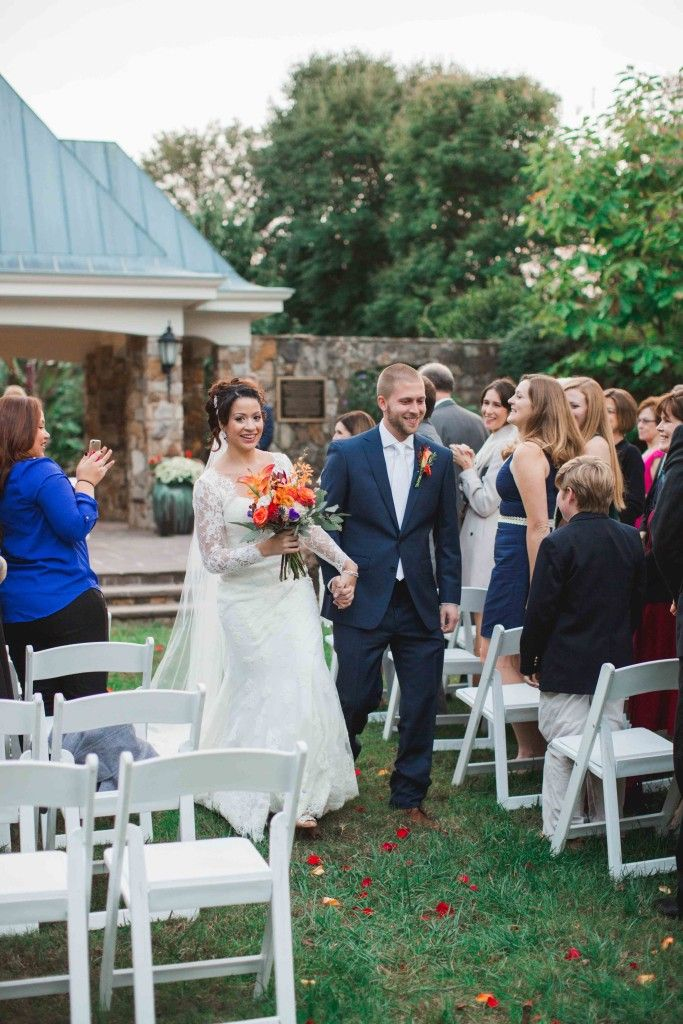 Flagler Garden Wedding At Lewis Ginter Botanical Richmond Va Photo By Andrew