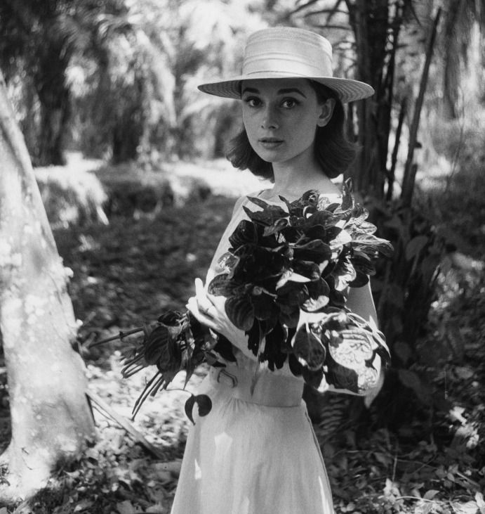 National Portrait Gallery - Audrey Hepburn on location in Africa for The Nuns Story by Leo Fuchs, 1958. Photo: © Leo Fuchs.