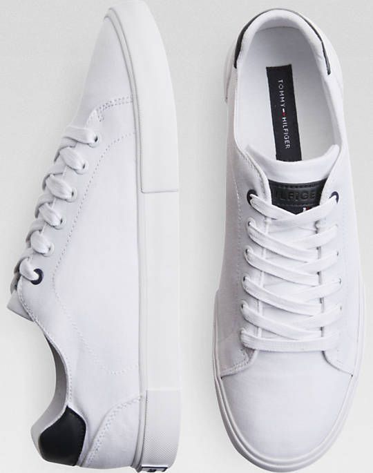 Tommy Hilfiger White Tennis Shoes