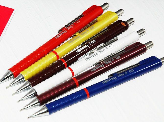 rotring ロットリング ティッキー2 シャープペン 0.5mm - 文房具 通販 | 輸入文具 店 | フライハイト ステーショナリー WebShop