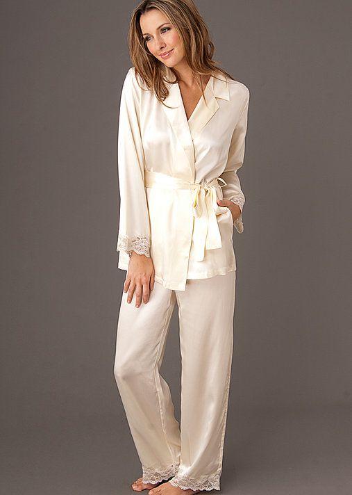 Indulgence Silk Wrap Pajama - Luxury Silk Pajama