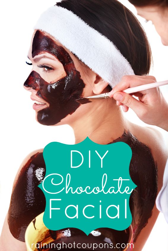 DIY Chocolate Facial. (I don't know if I can do it..I love chocolate too much to use it on my face rather than eat it o.O) LOL