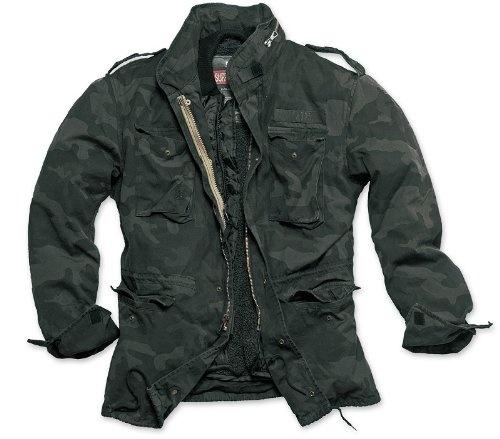 "Nice New \""Surplus\"" Designer-Jacket \""Regiment\"", Size: S, Color: black camouflage Review"