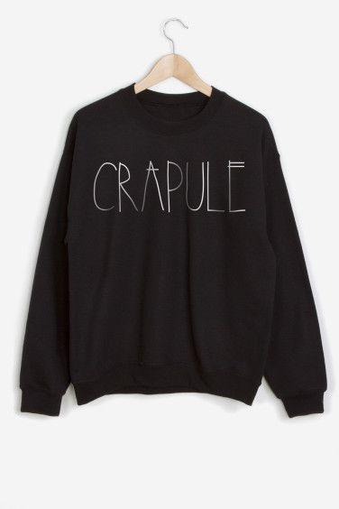 Rad | Sweater Crapule - NICOLAS YACOP