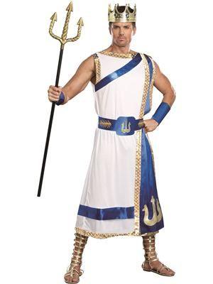 Poseidon Greek God of the Sea Adult Costume