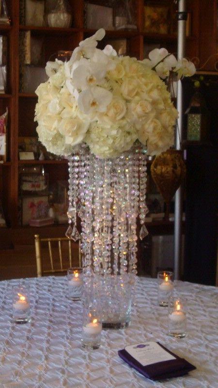 Best 20 Bling centerpiece ideas on Pinterest Bling wedding